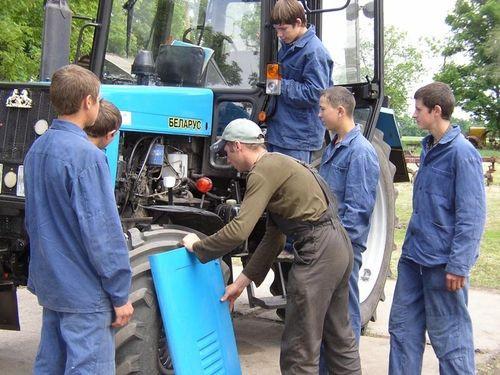 Обучение трактористов