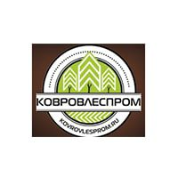 Логотип Ковровлеспром